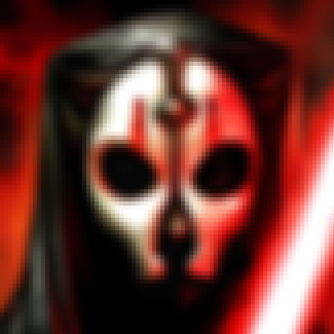 Darth Nihilus is listed (or ranked) 4 on the list 20 Characters In The Star Wars EU Way Cooler Than Han Solo