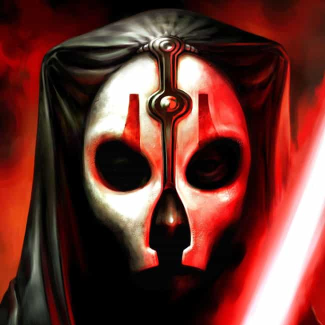 Darth Nihilus is listed (or ranked) 3 on the list 20 Characters In The Star Wars EU Way Cooler Than Han Solo