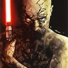 Darth Sion is listed (or ranked) 23 on the list My Top 30 Star Wars Expanded Universe Characters