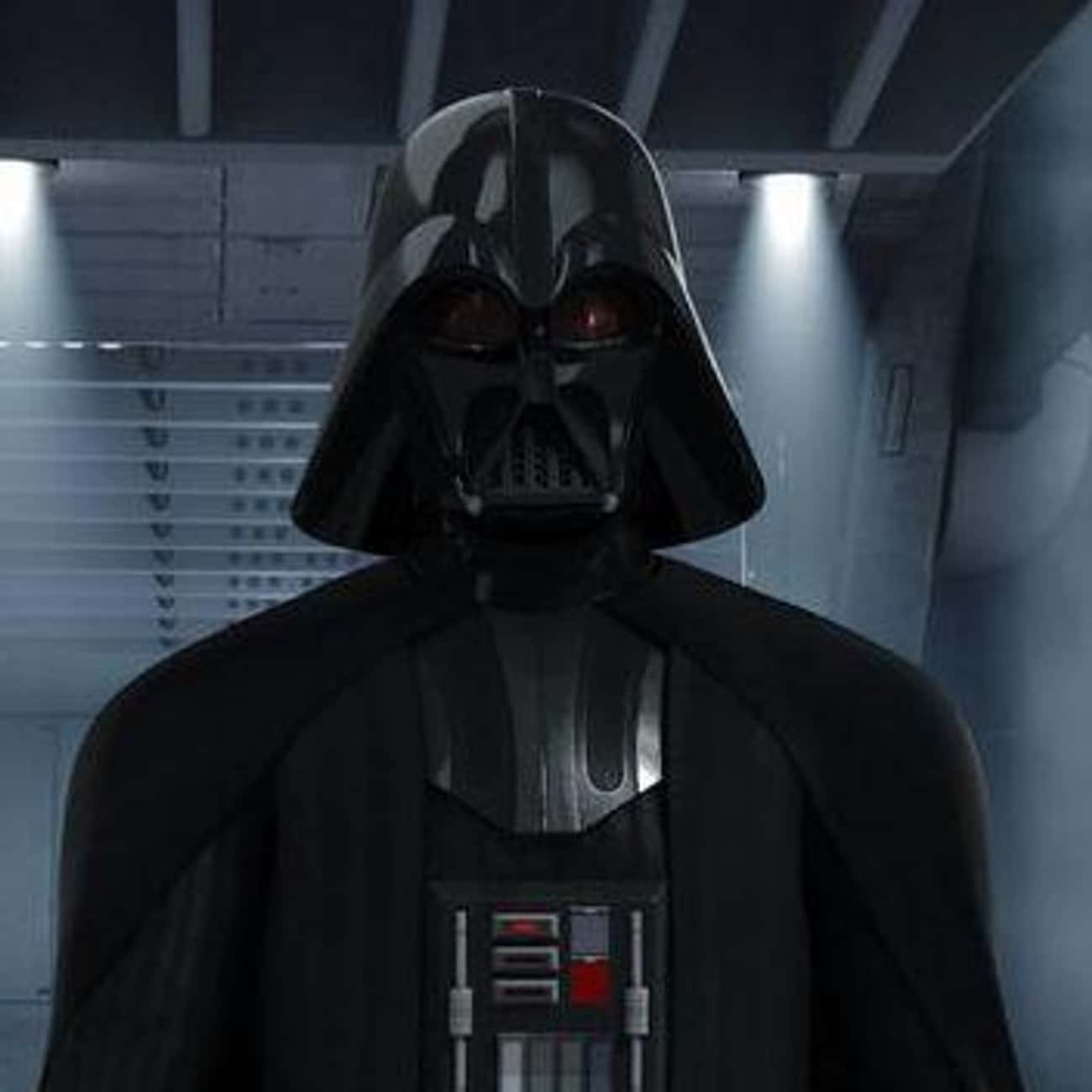 Darth Vader is listed (or ranked) 1 on the list The Best Sith In The 'Star Wars' Universe