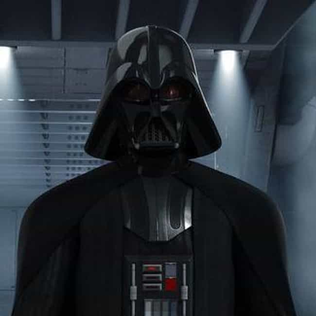 Darth Vader is listed (or ranked) 1 on the list Ranking The Most Powerful Star Wars Characters