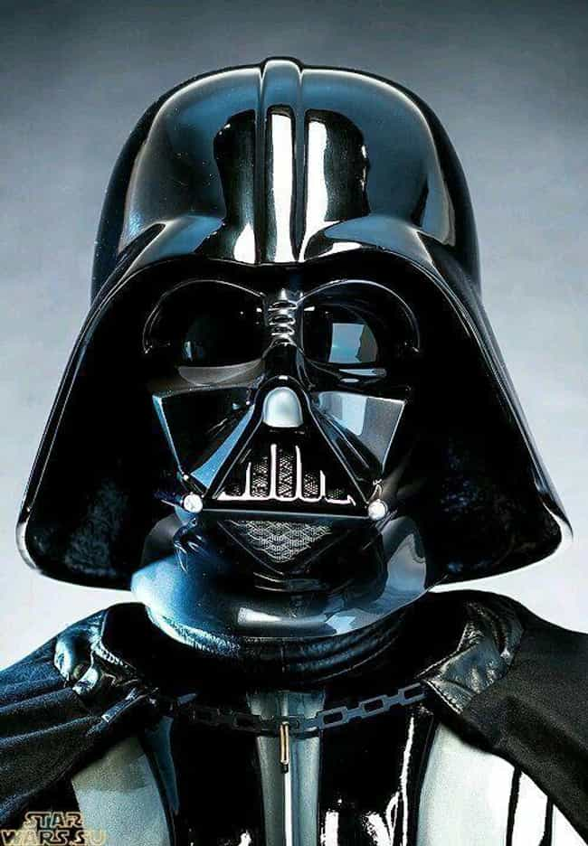 Darth Vader is listed (or ranked) 1 on the list The Greatest Masked Villains