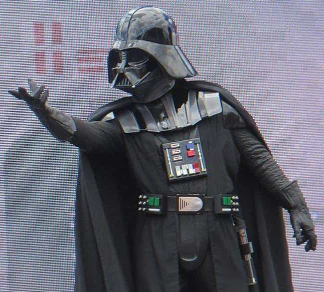 Darth Vader is listed (or ranked) 1 on the list The Most Iconic Masks in Movie History