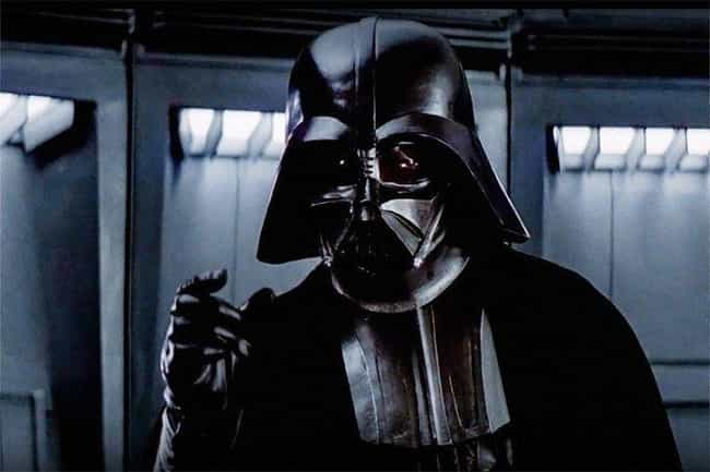 Darth Vader is listed (or ranked) 1 on the list What Nerdy Fictional Villain Would You Be Based On Your Zodiac?