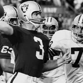 Daryle Lamonica is listed (or ranked) 23 on the list The Best NFL Quarterbacks of the 1970s