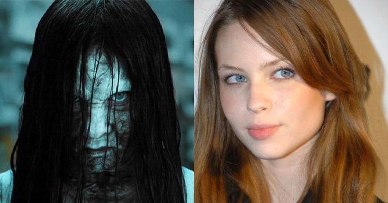 Samara Morgan/Daveigh Chase is listed (or ranked) 4 on the list What These Notable Horror Villains Look Like Without Their Makeup