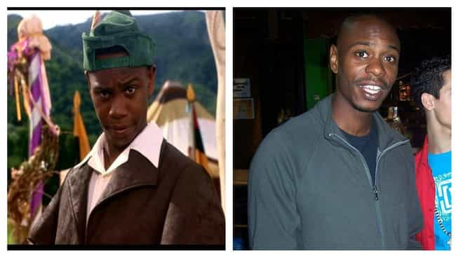 Dave Chappelle is listed (or ranked) 2 on the list Here's What The Cast Of Robin Hood: Men In Tights Looks Like Now