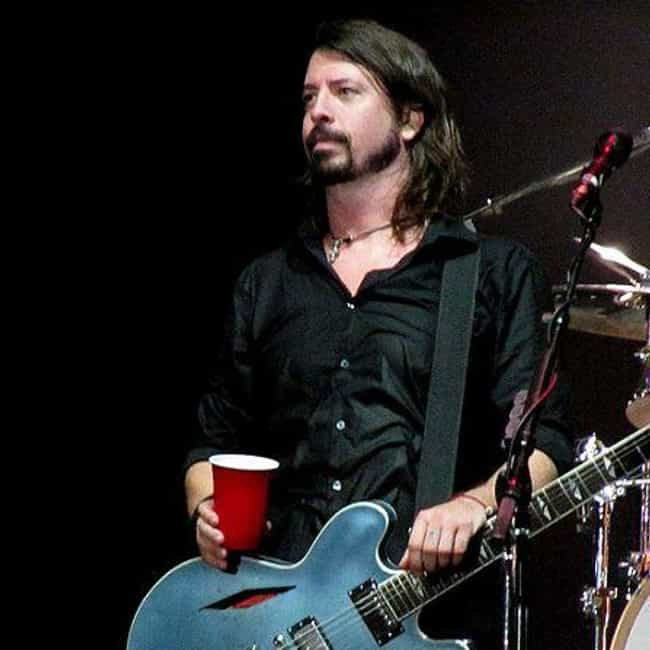 Dave Grohl is listed (or ranked) 3 on the list Celebrities Who Are Claustrophobic