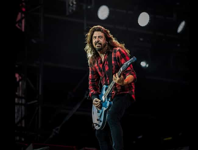 Dave Grohl is listed (or ranked) 2 on the list Celebrities And Rockers Who Worked in Record Stores