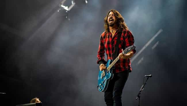 Dave Grohl is listed (or ranked) 2 on the list 14 Rock Musicians Who Go Above And Beyond For Their Fans