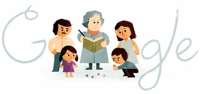 Virginia Gutiérrez de Pineda G... is listed (or ranked) 1224 on the list Every Person Who Has Been Immortalized in a Google Doodle