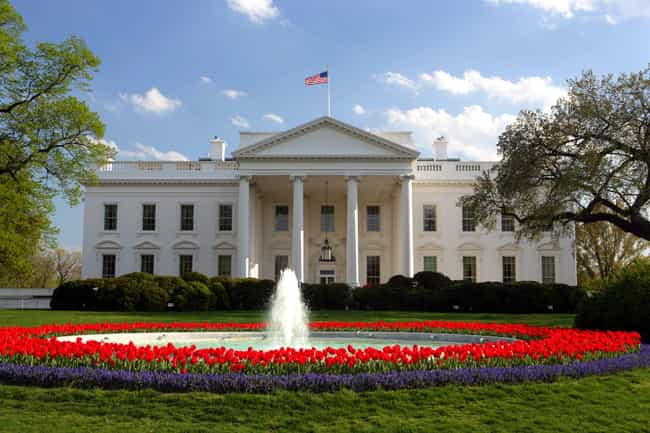 The White House is listed (or ranked) 4 on the list 10 Terrifying Ghost Stories From Washington D.C.