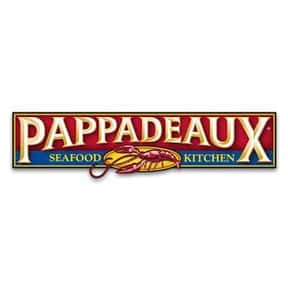 Pappadeaux Seafood Kitchen is listed (or ranked) 25 on the list The Best Bar & Grill Restaurant Chains