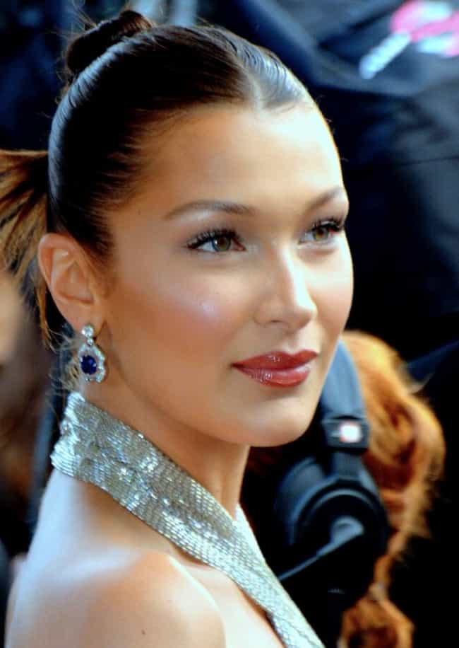 Bella Hadid is listed (or ranked) 1 on the list Famous People Living With Lyme Disease