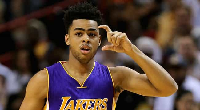 D'Angelo Russell is listed (or ranked) 4 on the list Who Is the Worst Person of the Week? (March 28-April 3)