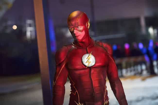 The Flash is listed (or ranked) 4 on the list The Best Current Shows About Time Travel