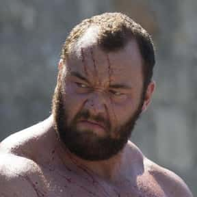 Gregor Clegane is listed (or ranked) 20 on the list Every 'Game of Thrones' Character's First Words