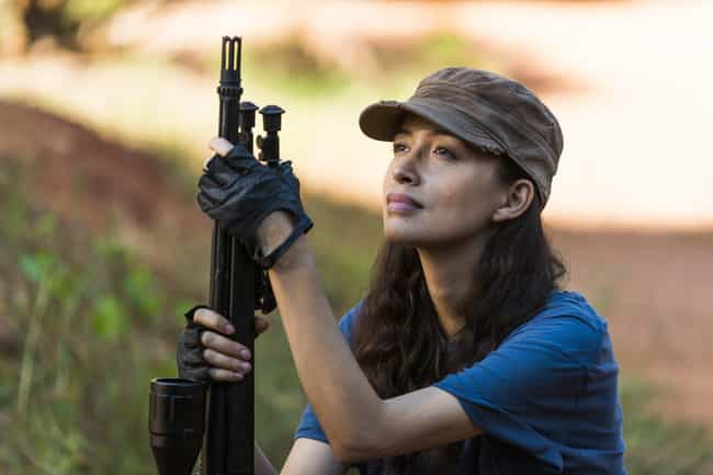 Rosita Espinosa is listed (or ranked) 8 on the list The Strongest Survivors On 'The Walking Dead,' Ranked
