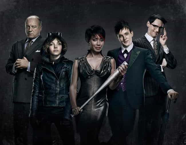 Gotham is listed (or ranked) 6 on the list Current TV Shows with the Best Costumes