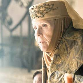 Olenna Tyrell is listed (or ranked) 15 on the list Current TV Characters Who Are the Most Relatable