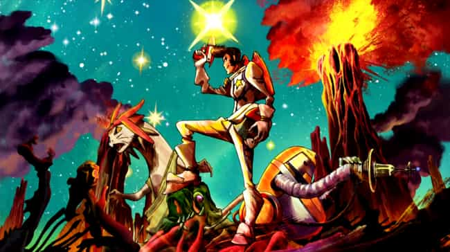 Space Dandy is listed (or ranked) 4 on the list 15 Extraordinary Anime About Life In Outer Space