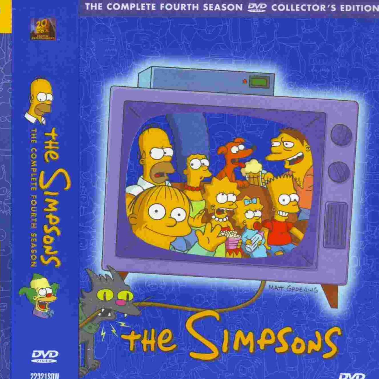 The Simpsons - Season 4 is listed (or ranked) 3 on the list All Seasons of 'The Simpsons', Ranked Best to Worst