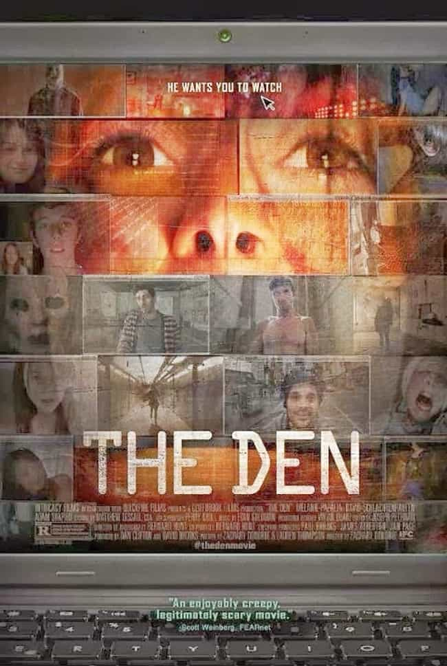 The Den is listed (or ranked) 3 on the list The Best Computer Screen Films