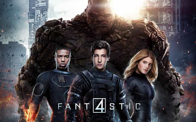 Fantastic Four is listed (or ranked) 4 on the list Bad Movies That Had Great Casts