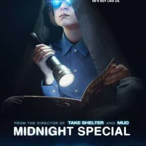 Midnight Special is listed (or ranked) 24 on the list The Best Intelligent Alien Movies of All Time