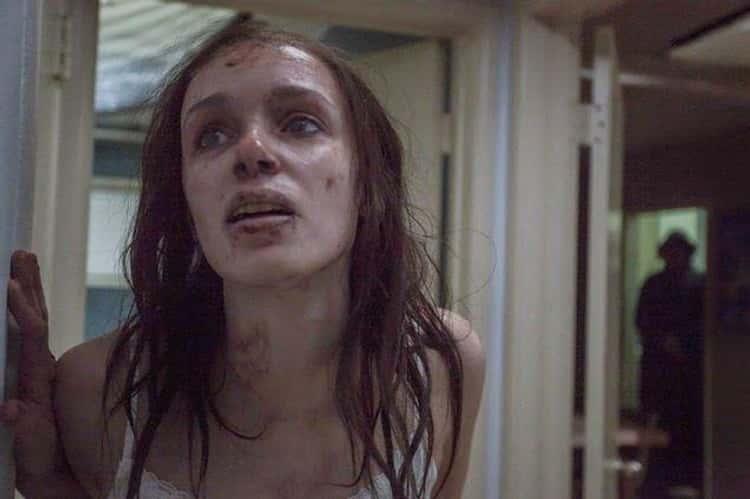 Sarah Vomits Maggots In  'Starry Eyes'