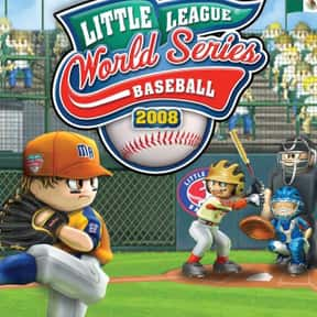 Little League World Series Bas is listed (or ranked) 5 on the list All Wii Baseball Games, Ranked Best to Worst