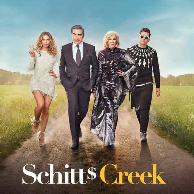Schitt's Creek is listed (or ranked) 4 on the list Which Show Will Win Best Comedy Series At The 2019 Emmys?