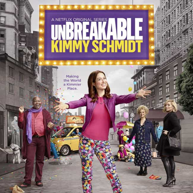 Unbreakable Kimmy Schmidt is listed (or ranked) 3 on the list The Most Satisfying TV Finales That Aired in 2019