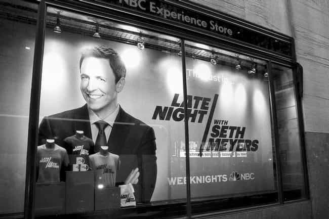 Late Night with Seth Mey... is listed (or ranked) 4 on the list What to Watch If You Love 'Last Week Tonight with John Oliver'