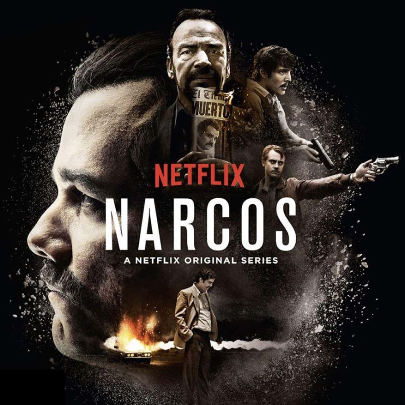 Narcos is listed (or ranked) 4 on the list What to Watch If You Love 'Ozark'