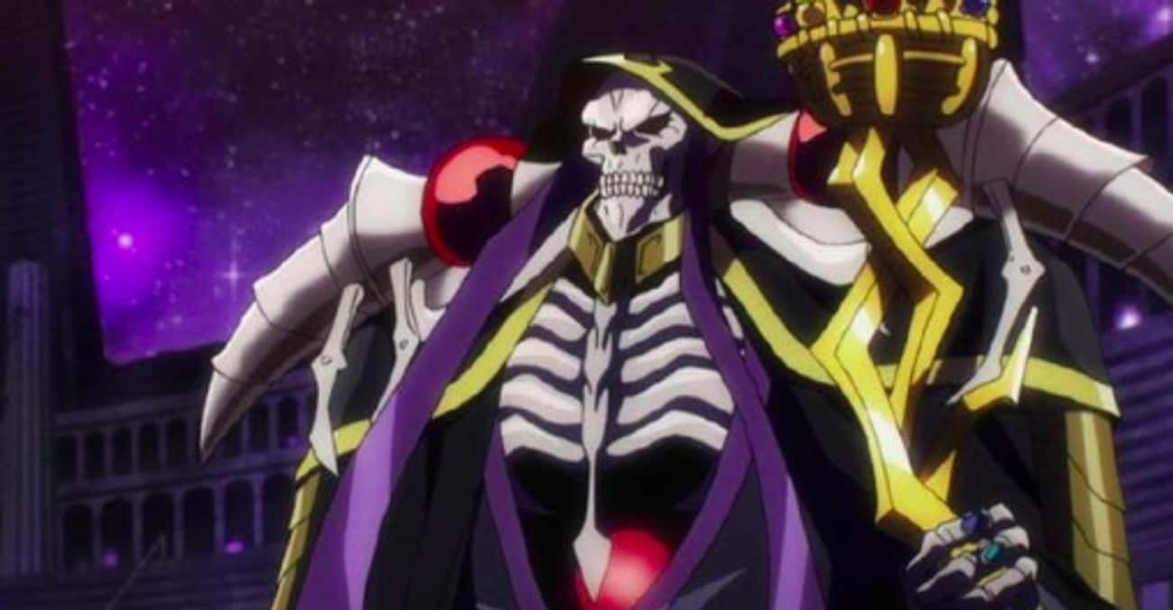 Ainz Ooal Gown Enjoys A Royal  is listed (or ranked) 4 on the list The 10 Craziest Anime Moments of 2018
