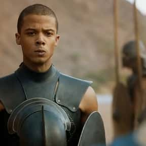 Grey Worm is listed (or ranked) 18 on the list Every 'Game of Thrones' Character's First Words
