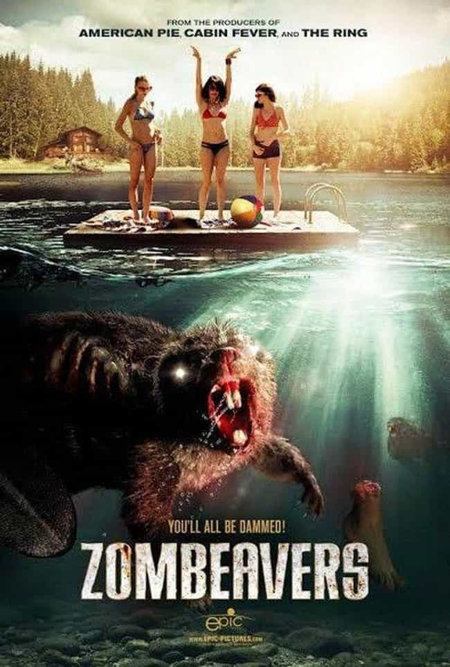Zombeavers is listed (or ranked) 2 on the list The Most Pun-Tastic Horror Movie Taglines