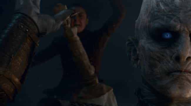 Night King is listed (or ranked) 2 on the list The Most Important 'Game of Thrones' Character Deaths