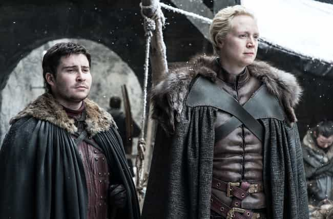 Podrick Payne is listed (or ranked) 2 on the list None Of Your Favorite 'GoT' Characters Would Have Gotten Where They Are If It Wasn't For Brienne