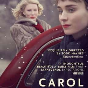 Carol is listed (or ranked) 1 on the list The Best Lesbian Movies