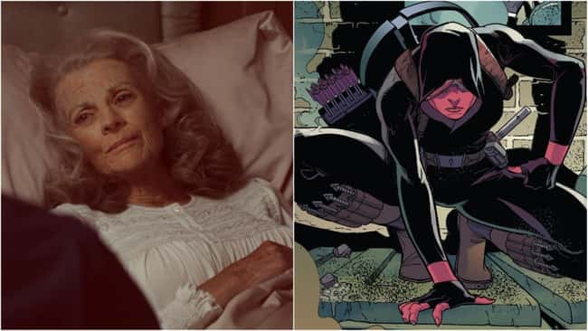 11. In both Marvel Comics and the MCU, Peggy Carter met her demise in a similar fashion. She fought in World War II with Steve Rogers, stayed with him until he emerged from the ice, and then passed away in her old age. That was Marvel Comics' status quo for decades. Peggy's undeath was caused by the Red Skull coercing a sentient Cosmic Cube to rewrite history.