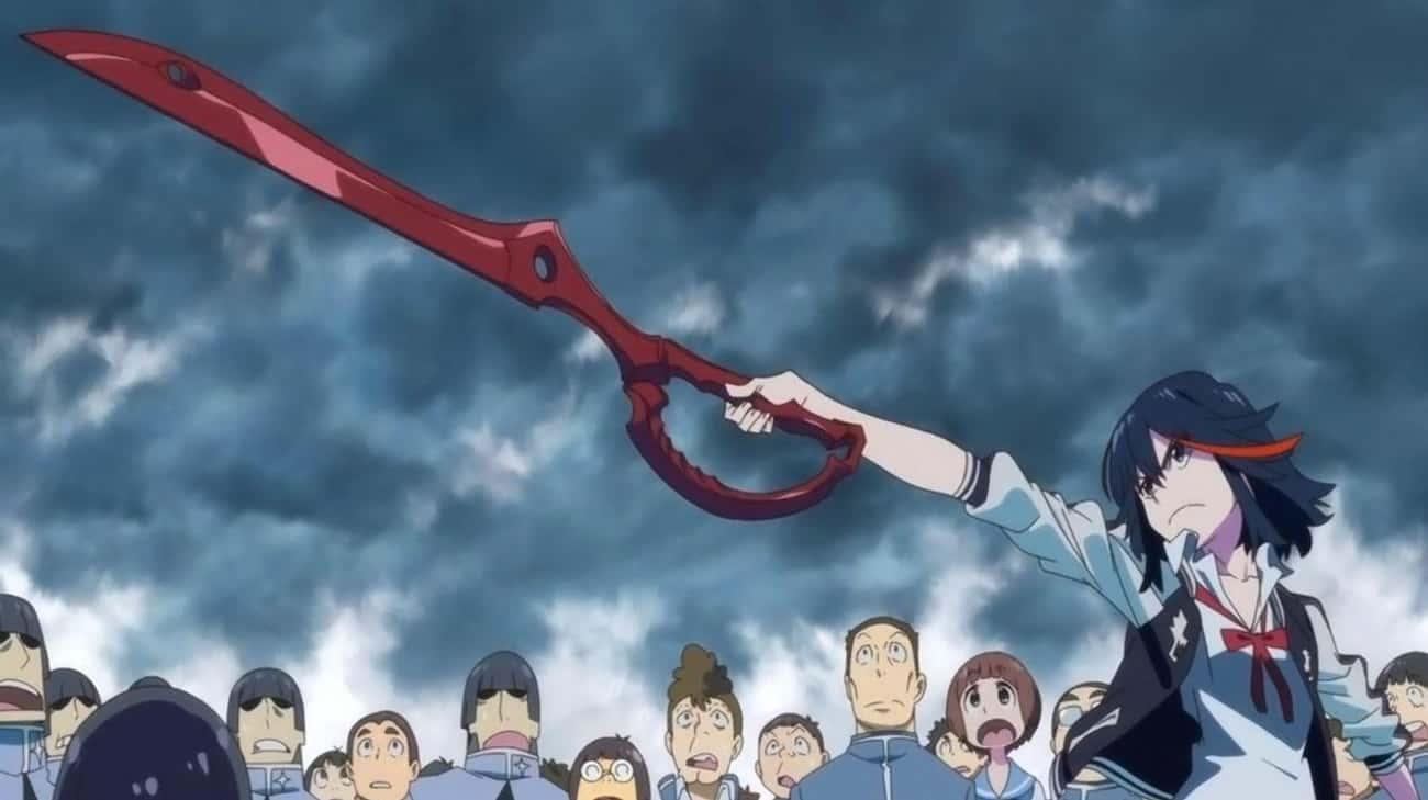 Ryuko Matoi Can Beat You In A Scissor Fight In 'Kill la Kill'