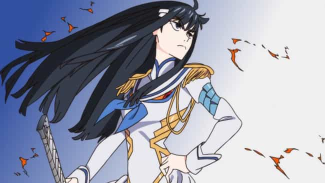 Satsuki Kiryuin is listed (or ranked) 3 on the list The 20 Greatest Himedere Anime Characters of All Time