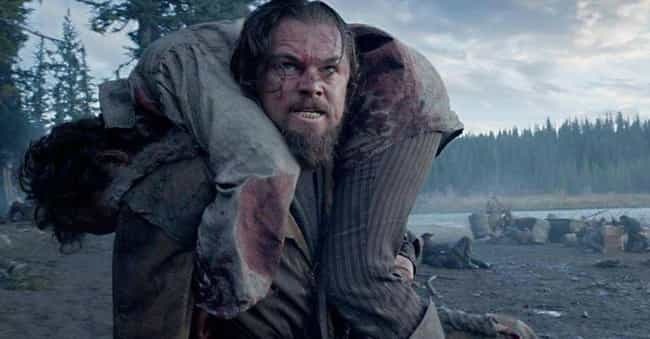 The Revenant is listed (or ranked) 2 on the list 15 Movies That Were Extremely Difficult to Film
