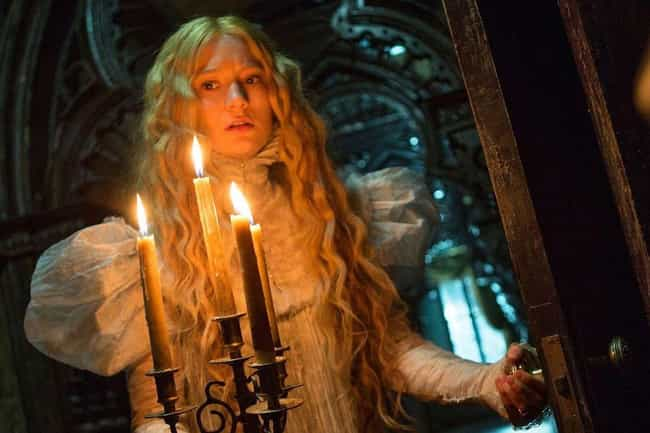 Crimson Peak is listed (or ranked) 3 on the list The Best Horror Movies Of The Decade That Didn't Take Place In This Decade