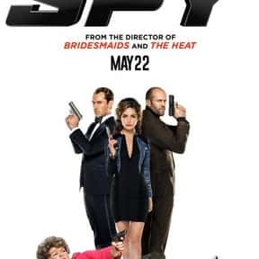 Spy is listed (or ranked) 2 on the list The Greatest Spy Comedy Movies Ever Made