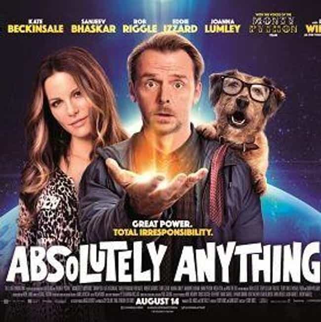 Absolutely Anything is listed (or ranked) 2 on the list The Best Alien Movies On Netflix Instant