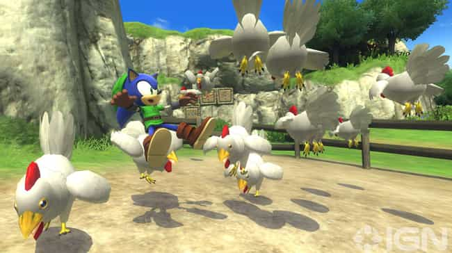 Sonic Lost World is listed (or ranked) 4 on the list The 13 Most Bizarre Crossovers In Gaming History