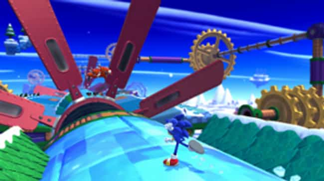 Sonic Lost World is listed (or ranked) 2 on the list The Craziest Things Video Games Have Tried To Charge Real Money For